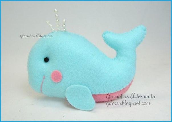 Como hacer animales marinos en fieltro03