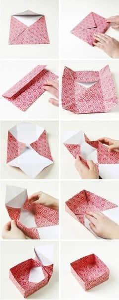 Como hacer cajas de papel paso a paso03
