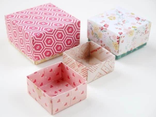 Como hacer cajas de papel paso a paso06