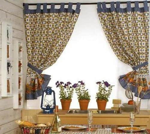 Como hacer cortinas faciles con patrones for Como hacer cortinas de cocina
