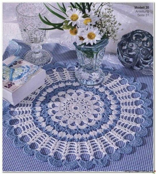 Como hacer manteles redondos tejidos a crochet04
