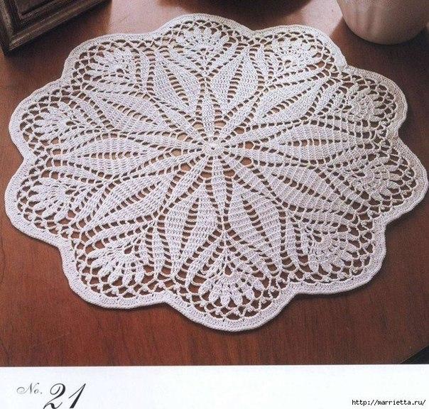 Como hacer manteles redondos tejidos a crochet06