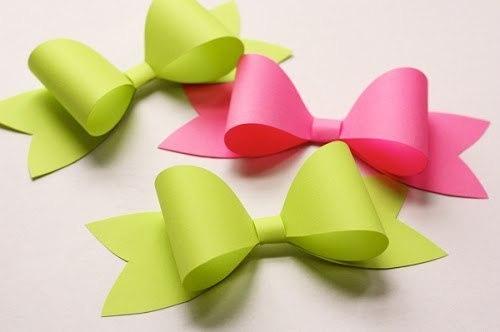 Como hacer moños de papel_ paso a paso01