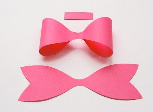 Como hacer moños de papel_ paso a paso03