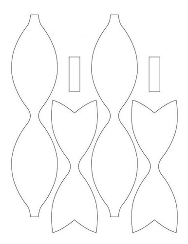 Como hacer moños de papel_ paso a paso04