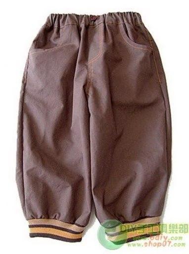 Como hacer pantalones para bebes01