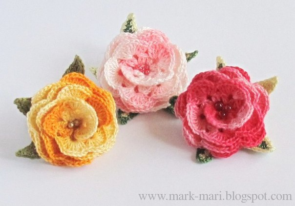 Como hacer rosas tejidos a crochet01