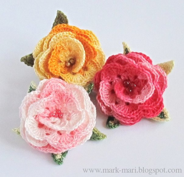 Como hacer rosas tejidos a crochet04