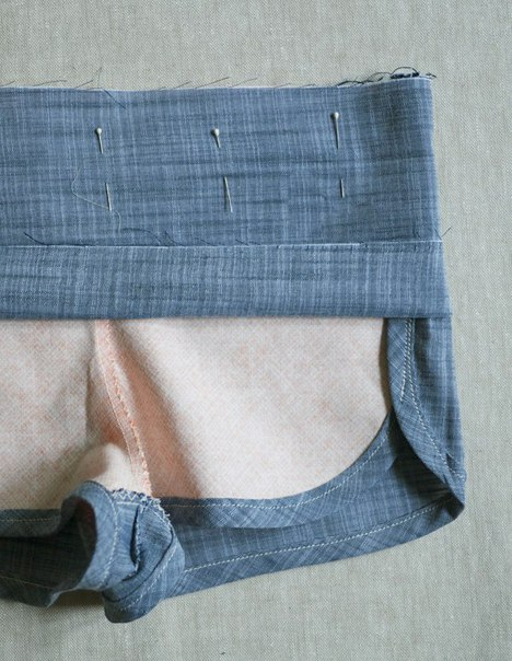 Como hacer shorts para mujeres paso a paso06