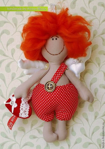 Como hacer un muñeco cupido en fieltro03