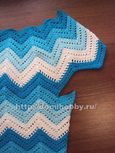 Como hacer una blusa con punto zig zag a crochet01