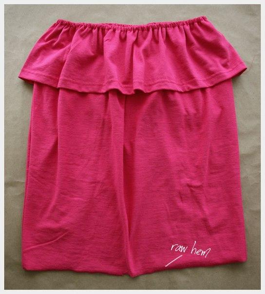 Como hacer una blusa strapless paso a paso01