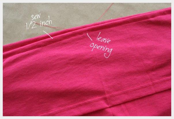 Como hacer una blusa strapless paso a paso05