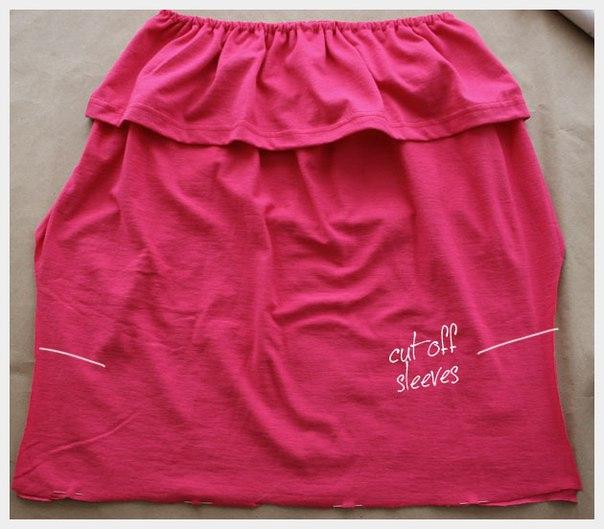 Como hacer una blusa strapless paso a paso09