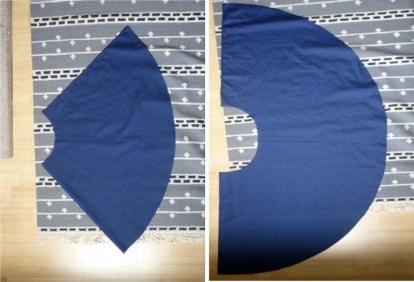 Como hacer una falda circular paso a paso for Como hacer una alberca paso a paso