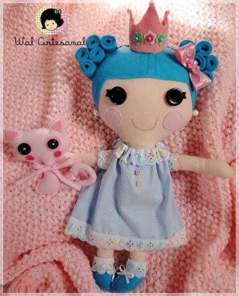 Como hacer una muñeca lala loopsy de fieltro02