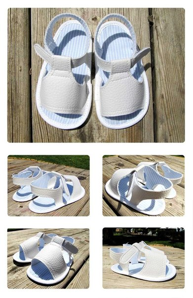 Como hacer unas sandalias para bebe paso a paso01
