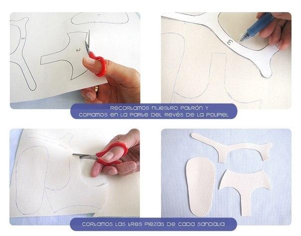 Como hacer unas sandalias para bebe paso a paso03