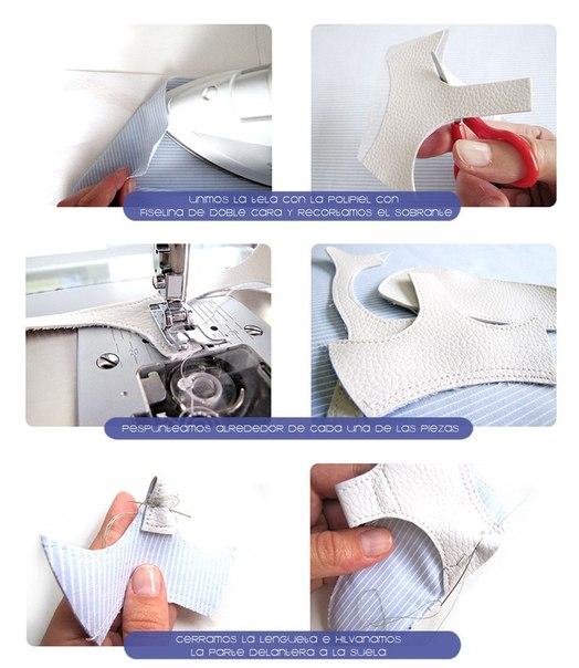 Como hacer unas sandalias para bebe paso a paso04