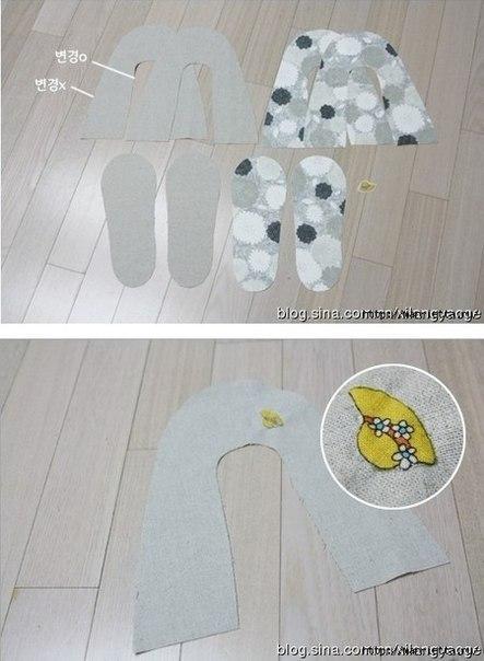 Como hacer unas zapatillas paso a paso03