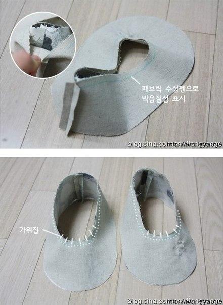 Como hacer unas zapatillas paso a paso08