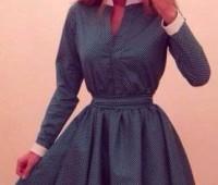 Como hacer vestidos con mangas largas