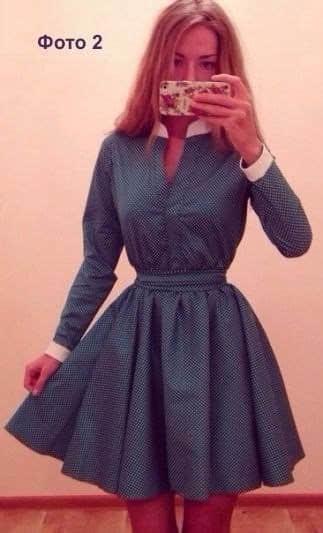 Como hacer vestidos con mangas largas02