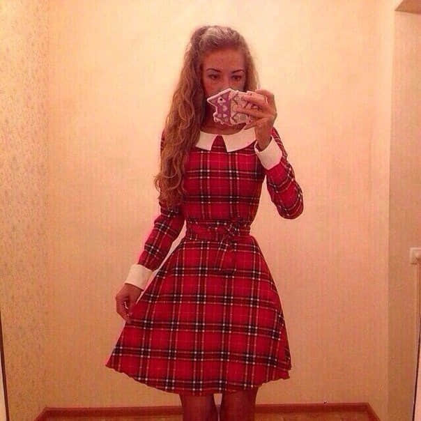 Como hacer vestidos con mangas largas05