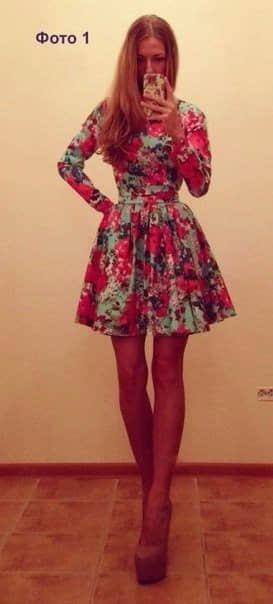 Como hacer vestidos con mangas largas07