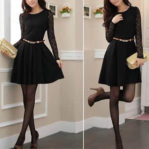 Como hacer vestidos con mangas largas08