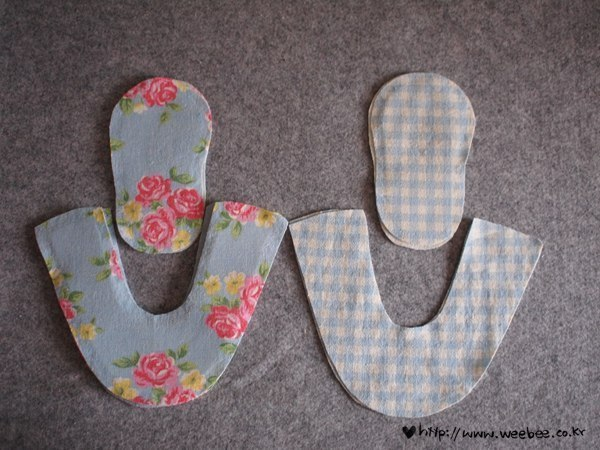 Como hacer zapatitos de tela para bebes03