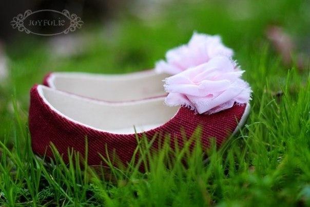 Como hacer zapatos de tela para niñas01