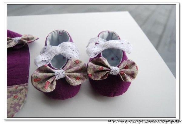 Como hacer zapatos para bebes paso a paso04