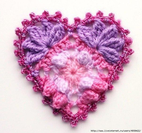 Como tejer corazones a crochet paso a paso03