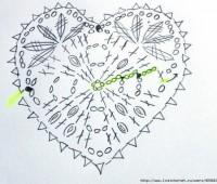 Como tejer corazones a crochet paso a paso