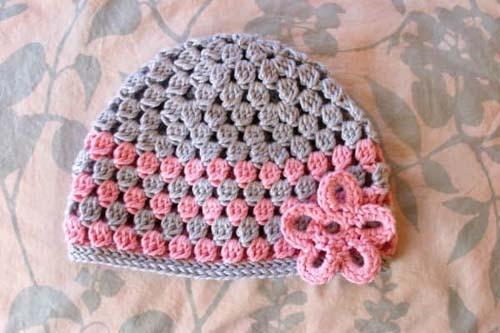 Como tejer gorros a crochet para niños04