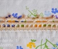 Como tejer puntillas a crochet para servilletas