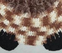 Como tejer una alfombra de buho a crochet