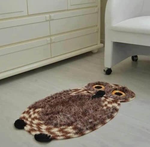 Como tejer una alfombra de buho a crochet06
