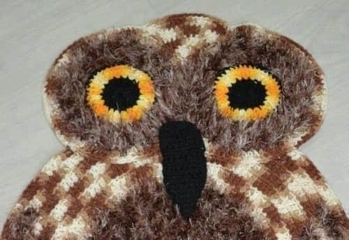 Como tejer una alfombra de buho a crochet07