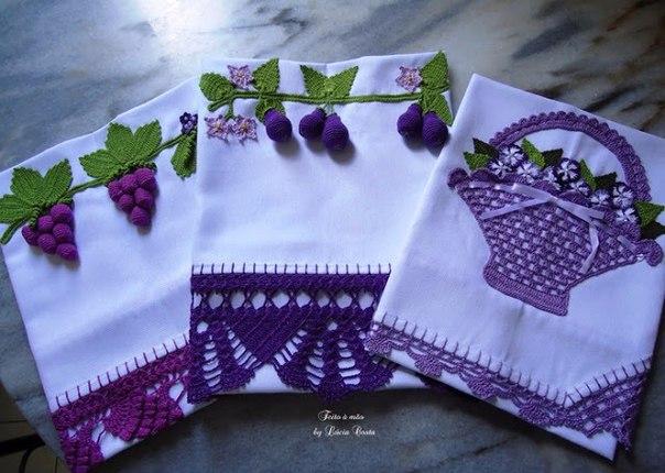 Puntillas a crochet para servilletas y manteles - Hacer puntillas de ganchillo ...