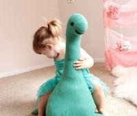 Como hacer un dinosaurio gigante de peluche