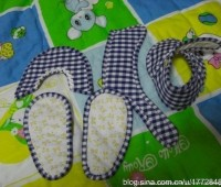 Zapatitos de tela para bebes paso a paso
