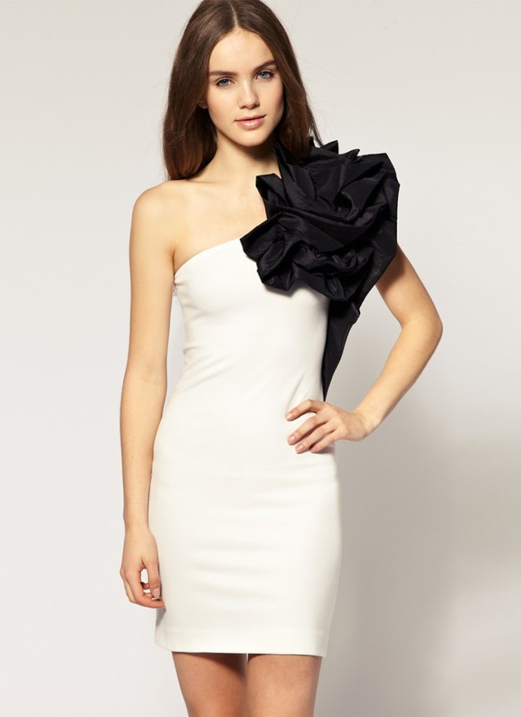vestido de un solo hombro03