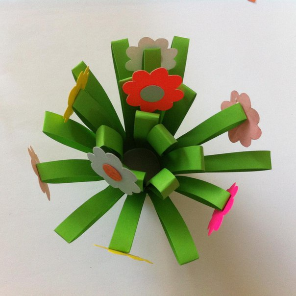 Como hacer flores faciles de papel05
