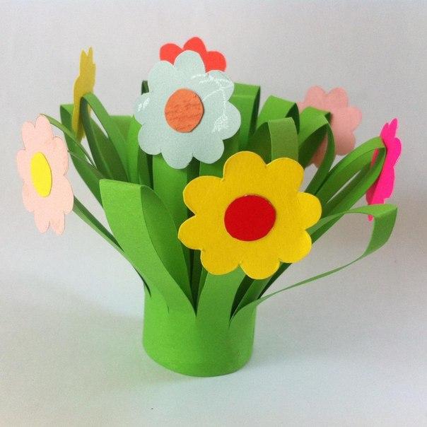 Como hacer flores faciles de papel06