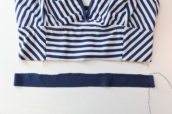 Como hacer trajes de baño pin up de dos piezas01