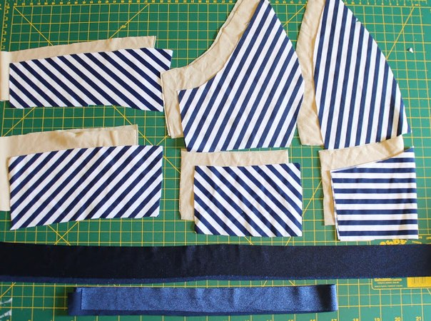 Como hacer trajes de baño pin up de dos piezas02