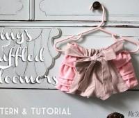 Como hacer un short para niñas