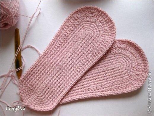 Como hacer unos zapatos a crochet para mujer03